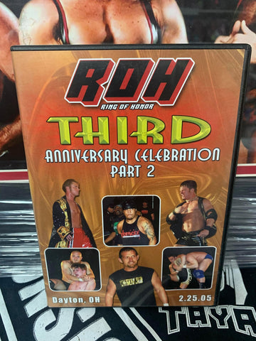 ROH Ring Of Honor 3rd Anniversary Celebration Part 2 2/25/05 DVD OOP