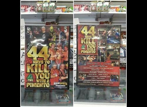 Pro Wrestling Guerrilla PWG 44 ways to kill you with a pimento DVD