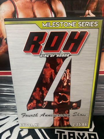 ROH Ring Of Honor 4th Anniversary Show 2/25/06 Edison, NJ DVD OOP