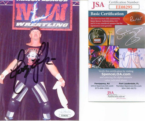Terry Funk Pose 1 Signed Candid Photo COA JSA