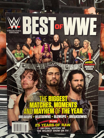 Best of WWE Collectors Edition Magazine February 2018 TONS of Photos