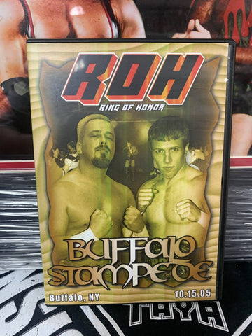 ROH Ring Of Honor Buffalo Stampede 10/15/05 NY ROH DVD OOP