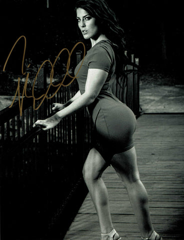 Tessa Blanchard Pose 6 Signed Photo COA