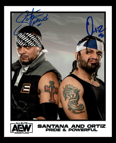 Santana & Ortiz LAX Dual Signed Photo COA