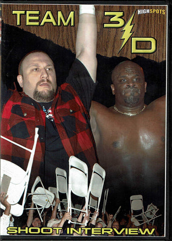 Highspots Team 3-D Shoot Interview (Bubba Ray & Devon) 2 Disc Set DVD