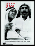 The Iron Sheik Pose 9 Signed Photo COA