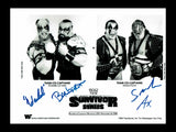 Demolition Ax & Smash and Powers of Pain Quad Signed Photo COA