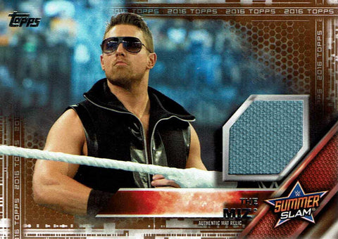 2016 WWE Topps The Miz Summerslam Bronze Relic #7/50