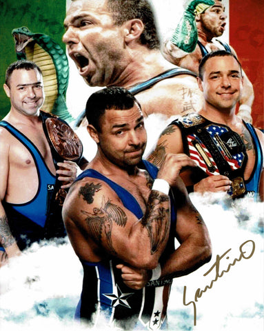 Santino Marella Pose 5 Signed Photo COA