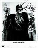 Papa Shango (The Godfather) Black Ink Pose 4 Signed Photo COA