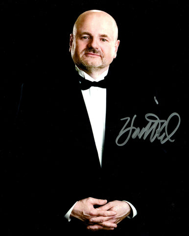 Howard Finkel Pose 2 Signed Photo COA