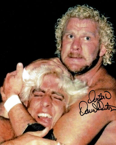 David Schultz (Inscribed Dr. D) Pose 9 Signed Photo COA