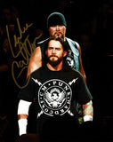 Luke Gallows Pose 2 Signed Photo COA