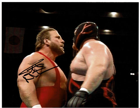 Scott Norton Pose 1 Signed Photo COA (IMPERFECT - SALE)