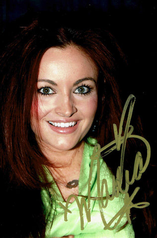 Maria Kanellis Signed Candid Photo COA