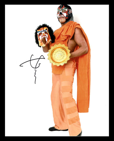 The Great Sasuke Pose 18 Signed Photo COA
