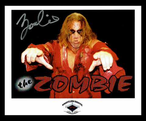 The Zombie (Tim Arson) Signed Photo COA