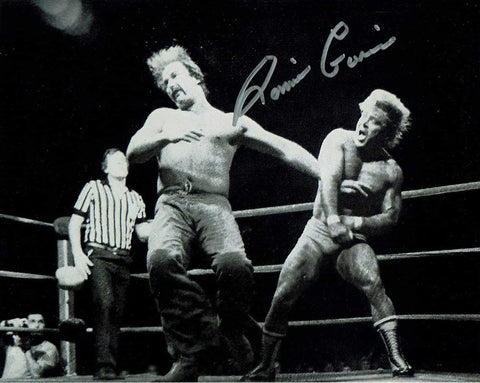 Ronnie Garvin Signed Photo (IMPERFECT - SALE)