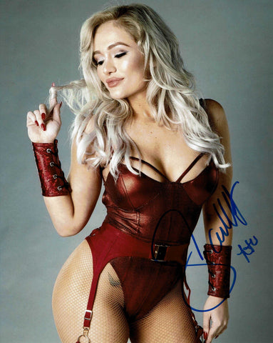 Scarlett Bordeaux Pose 3 Signed Photo COA