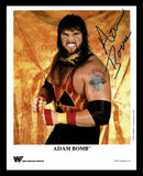 Adam Bomb Pose 1 Signed Photo COA