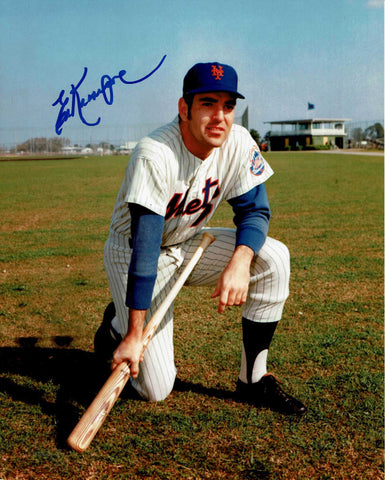 Ed Kranepool Pose 2 Signed Photo COA