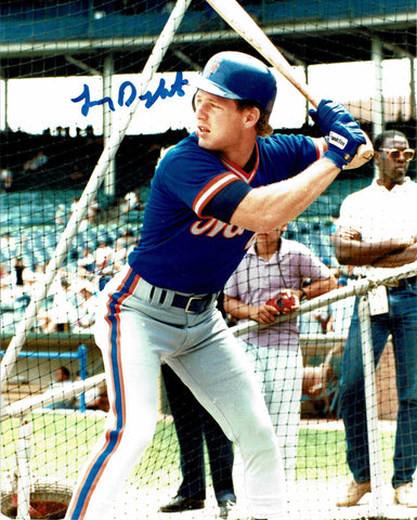 Lenny Dykstra Pose 3 Signed Photo COA