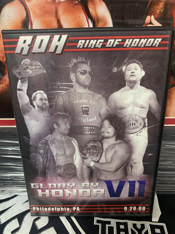 ROH Ring Of Honor Glory By Honor 7 9/20/08 Philadelphia, PA DVD OOP