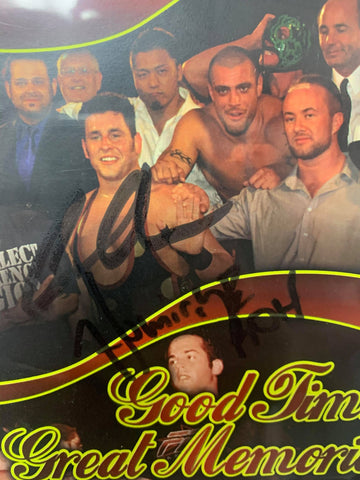 ROH Ring Of Honor Good Times Great Memories 4/28/07 (Signed by Colt Cabana) DVD OOP
