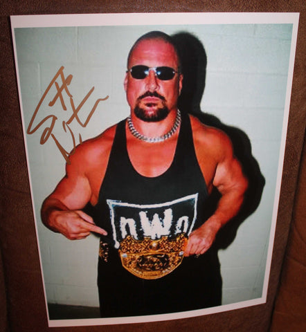 Scott Norton Pose 1 Signed Photo COA IMPERFECT SALE