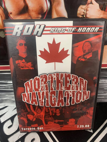 ROH Ring Of Honor Northern Navigation 7/25/08 Toronto, Ont DVD OOP