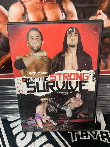 ROH Ring Of Honor Only The Strong Survive 1/15/11 Charlotte, NC DVD OOP