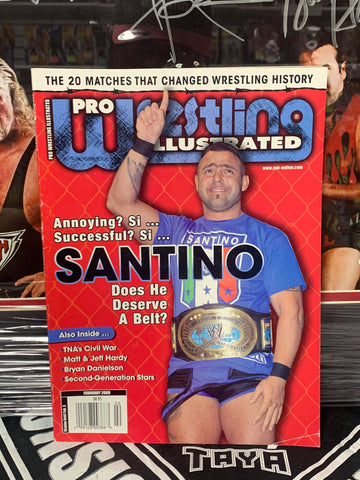 PWI Pro Wrestling Illustrated Magazine February 2009 (Santino)