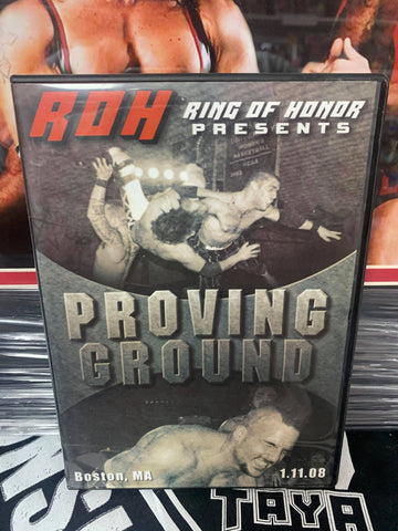 ROH Ring Of Honor Proving Ground 1/11/08 Boston, MA DVD OOP
