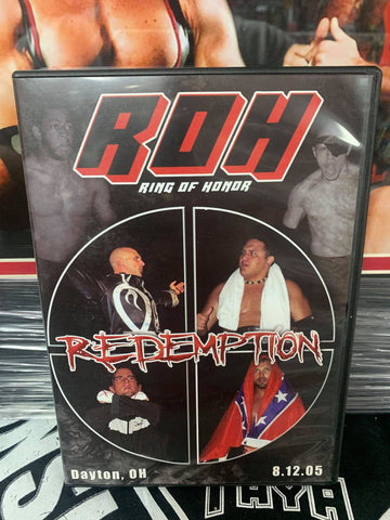 ROH Ring Of Honor Redemption 8/12/05 Dayton, OH ROH DVD