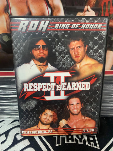 ROH Ring Of Honor Respect is Earned 2 6/7/08 Philadelphia, PA DVD OOP
