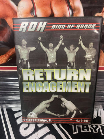 ROH Ring Of Honor Return Engagement 4/19/08 Chicago Ridge, IL DVD OOP
