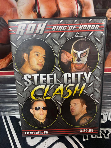ROH Ring Of Honor Steel City Clash 3/20/09 Elizabeth, PA DVD OOP