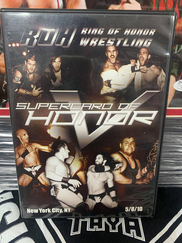 ROH Ring Of Honor Supercard of Honor 5/8/10 NY DVD OOP