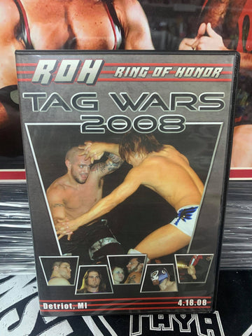 ROH Ring Of Honor Tag Wars 2008 4/18/08 Detroit, MI DVD OOP