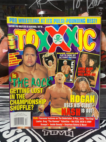 Toxxxic Magazine Vol. 2 #12 January 2000 (Hogan Pinup Inside)