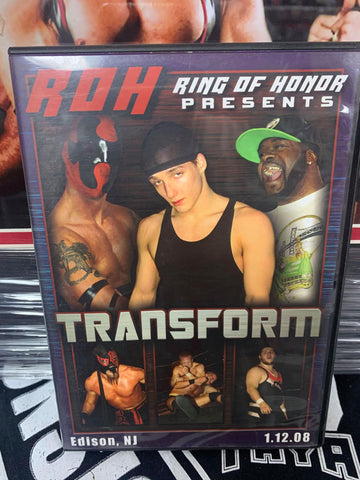 ROH Ring Of Honor Transform 1/12/08 Edison, NJ DVD OOP