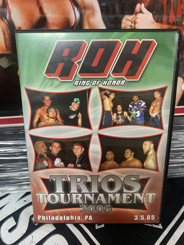 ROH Ring Of Honor Trios Tournament 2005 3/5/05 PA DVD OOP