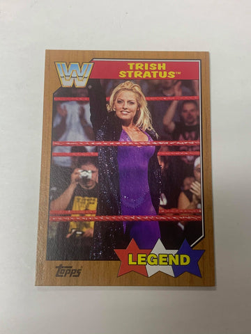Trish Stratus 2017 Topps Heritage WWE Bronze Parallel Legend #98
