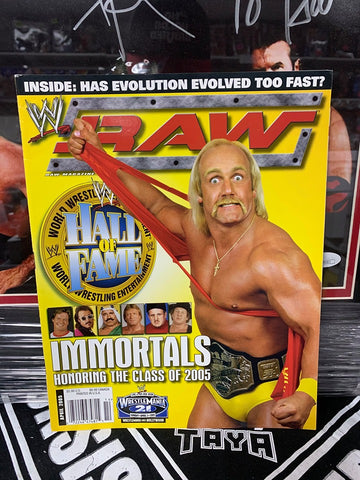 WWE RAW Magazine April 2005