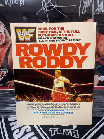 WWF WWE Presents The Official Biography of Rowdy Roddy Piper 1985 (Tons of Classic Photos)