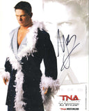 AJ Styles Official TNA Promo Pose 2 Signed Photo COA
