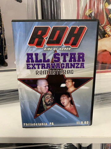 ROH Ring Of Honor All Star Extravaganza Philadelphia, PA 11/9/02 DVD OOP