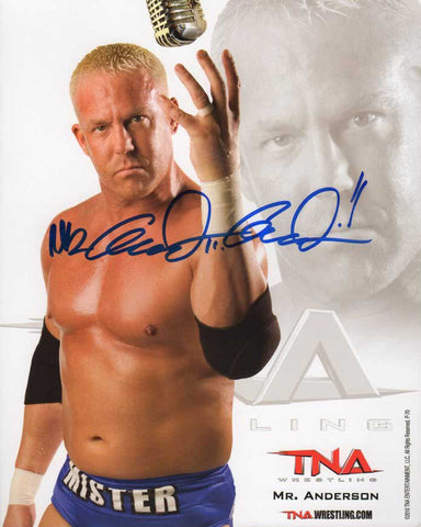 Mr. Anderson (Mr Kennedy) Official TNA Promo Signed Photo COA