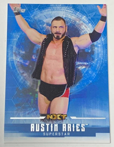 Austin Aries 2017 Topps WWE NXT Undisputed Card #43