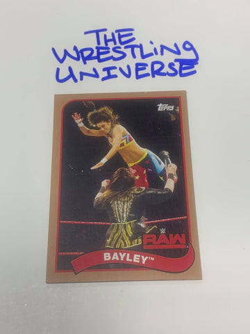 Bayley WWE 2018 Topps Parallel Card #9